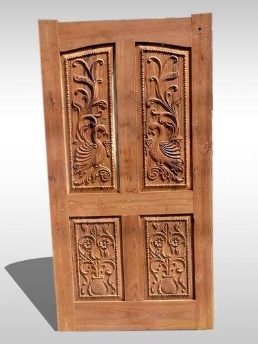Wooden Doors Main Double Door With Designer Farme Manufacturer