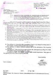 IBR Certificate