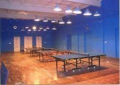 Table Tennis Room Wooden Flooring