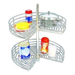 SS Wire Carousel Basket