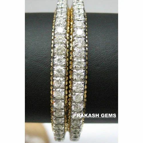 6ebb44aa3c7 Diamond Jewelry - Diamond Bangles Exporter from Delhi