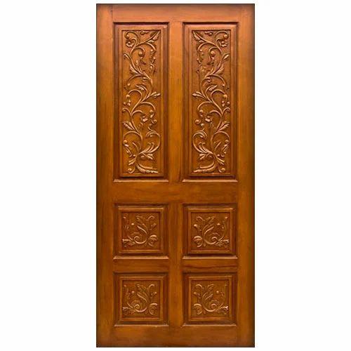 Door with Teak Veneer  sc 1 st  IndiaMART & Door With Teak Veneer Teak Wood Doors | Sarojini Colony ...