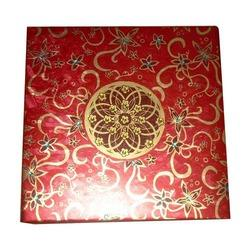 Red Dry Fruits Box
