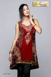 Stylish Party Wear Tunic Kurti Top