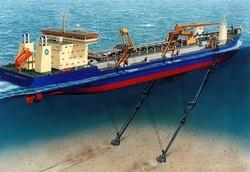 Marine Dredging Crane Repair Service