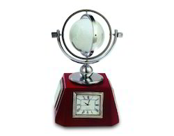 Globe Shape Trophy with Watch