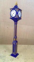 Metal Pillar Clocks