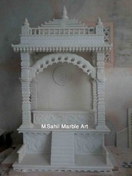 Small Marble Home Temple