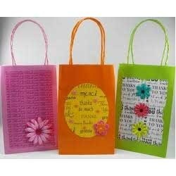 Colored Gift Bags