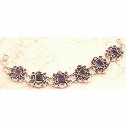 Amethyst Bracelet in 925 Sterling Sliver