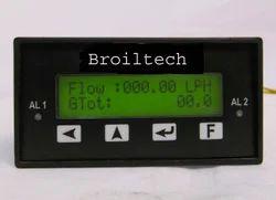 Flow Rate Cum Totalizator For Steam, Vortex, Gas, Horrific Flow Meter