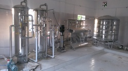 Semi-Automatic SS304 Mineral Water Bottling Plant, 2-3 Hp, Capacity: 3000 Lph Mwtp