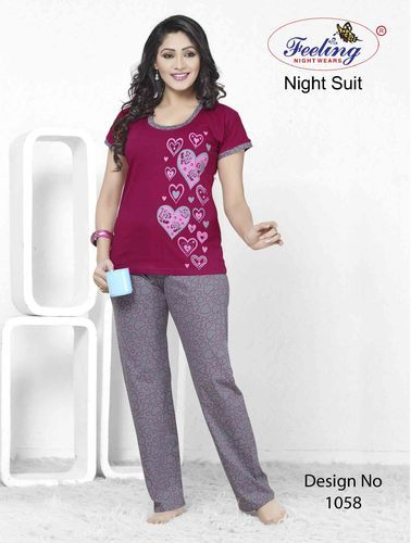 4dd1735fa Ladies Cotton Night Suit