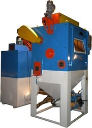 Pneumatic Tumblast Blasting Machine