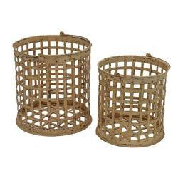 Round Iron Basket