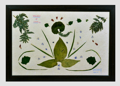 Nature Paintings With Real Leaves Flowers न चर प ट ग प रक त क च त रक र Nature S I Home Utility Delhi Id 9467819748