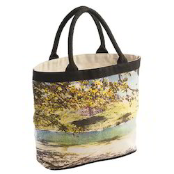 Canvas Bag Print with Soft Padded Handle