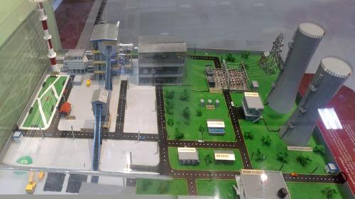 Power Plant Model Industrial Models Miracle Models