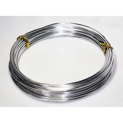1 Mm To 8 Mm Silver Industrial Aluminium Wires, Quantity Per Pack: 20-30 kg