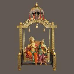 Big Radha-Krishna Chatri Jhula
