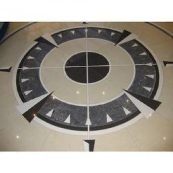 Vitrified Tile Inlay Cutting