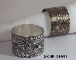 Brass Antique Style Napkin Rings, Packaging Type: Polybag, Size: Dia. 1.5
