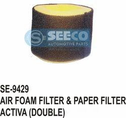 Air Foam Filter & Paper Filter
