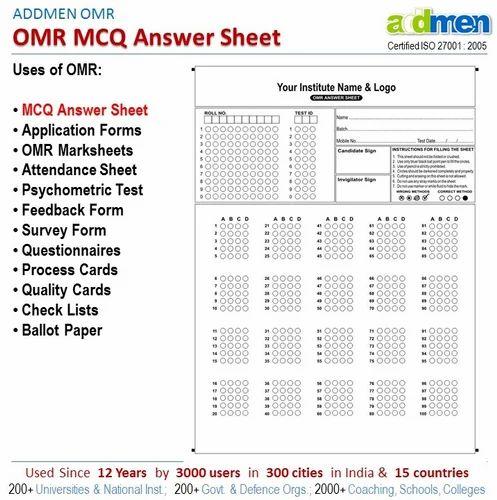 omr sheet