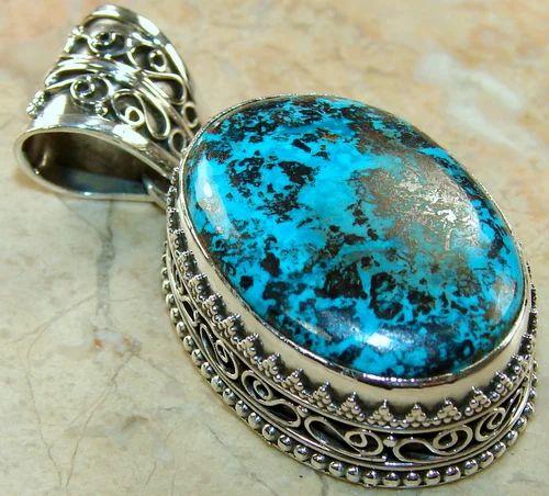 Chrysocolla pendant at rs 1254 piece raja park jaipur id chrysocolla pendant mozeypictures Images