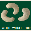 White Whole 180 Cashew Nuts