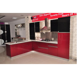 L Shape Modular Kitchen In Ghaziabad Uttar Pradesh