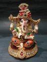 Fibre Diamond Ganesha Statue