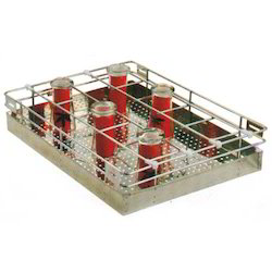 Perforated Glass Basket