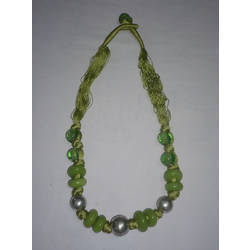 Thread and Bead Necklace