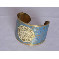 Colored Brass Cuffs