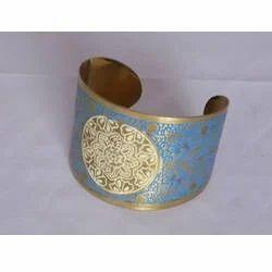 Colored Brass Cuffs