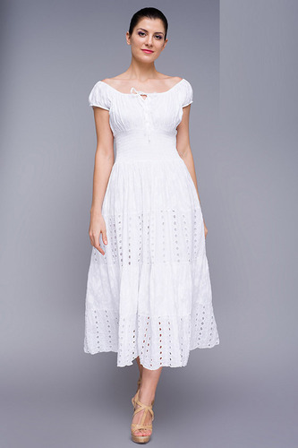 Las Long Dresses Pinafores And Manufacturer From New Delhi
