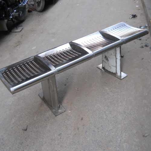 Steel Bench Stainless Es Shape Rectangle Rs 14000
