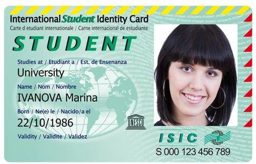 Id Pvc Technologies Student piece Basic Rs Id Visual 20 Card 2199428388 Rectangular