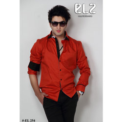 Fancy Shirts - Fancy Black & Red Shirts Exporter from Mumbai