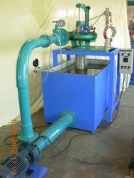 Blue Kaplan Turbine Test Rig