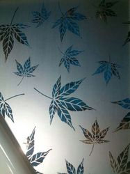 Etching Decorative Sheets Leaf Design Stainless Steel
