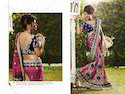 Party Wear Printed Bollywood Sarees, Machine Made ,Packaging Type: Carton