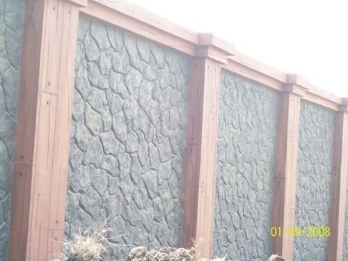 Ferrocrete Rough Stone Cladding Tile Service - Shivay