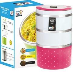 Insulated Lunch Box Three Layer