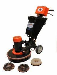 Three Brush Floor Scarifying Machine, Model Name/Number: Speed 425