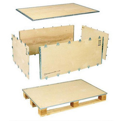 Newal Nailless Plywood Packing Boxes Capacity : 25 Kg to 10 Ton