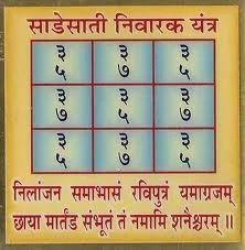 Shani Sadhe Sati Nivaran, वैदिक ज्योतिष in