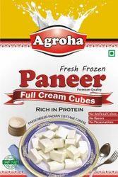 Agroha Fresh Cubes Paneer 1Kg/Cubes Cheese