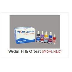 Widal H and O Test  Kit